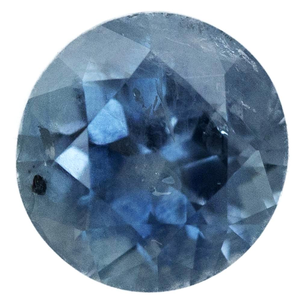 2.40CT ROUND MONTANA SAPPHIRE, LIGHT-MEDIUM DENIM PERIWINKLE BLUE, 7.6MM