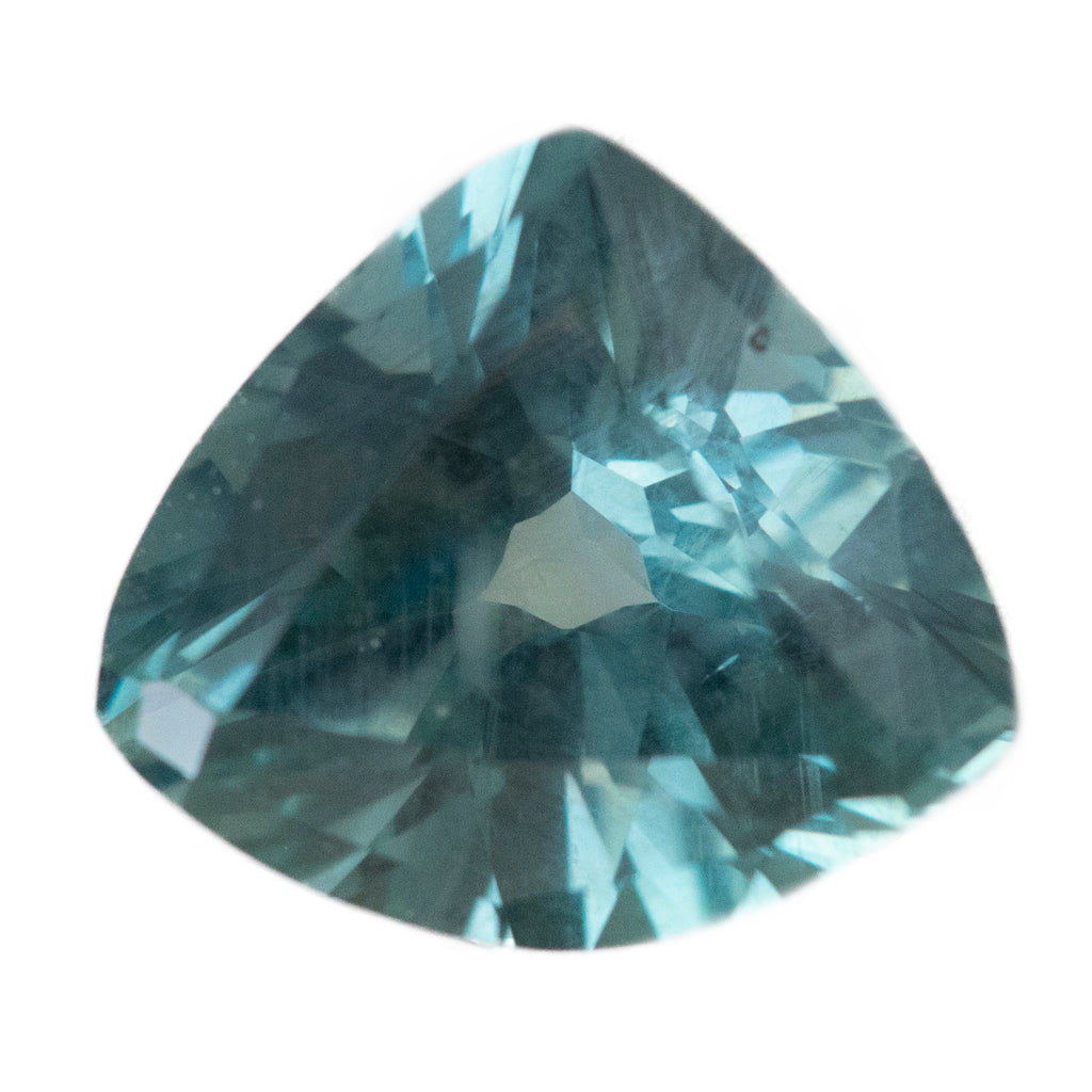 2.57CT TRILLION MONTANA SAPPHIRE, COLOR CHANGING TEAL TO PURPLE GREY, UNTREATED, 9.29X8.31MM