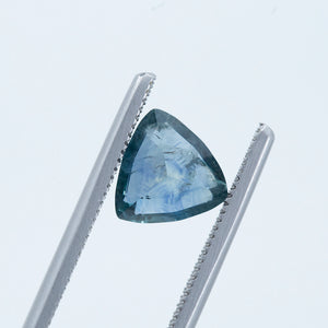 2.63CT TRILLION MONTANA SAPPHIRE, MEDIUM TEAL BLUE GREY, 8.51X8.51MM