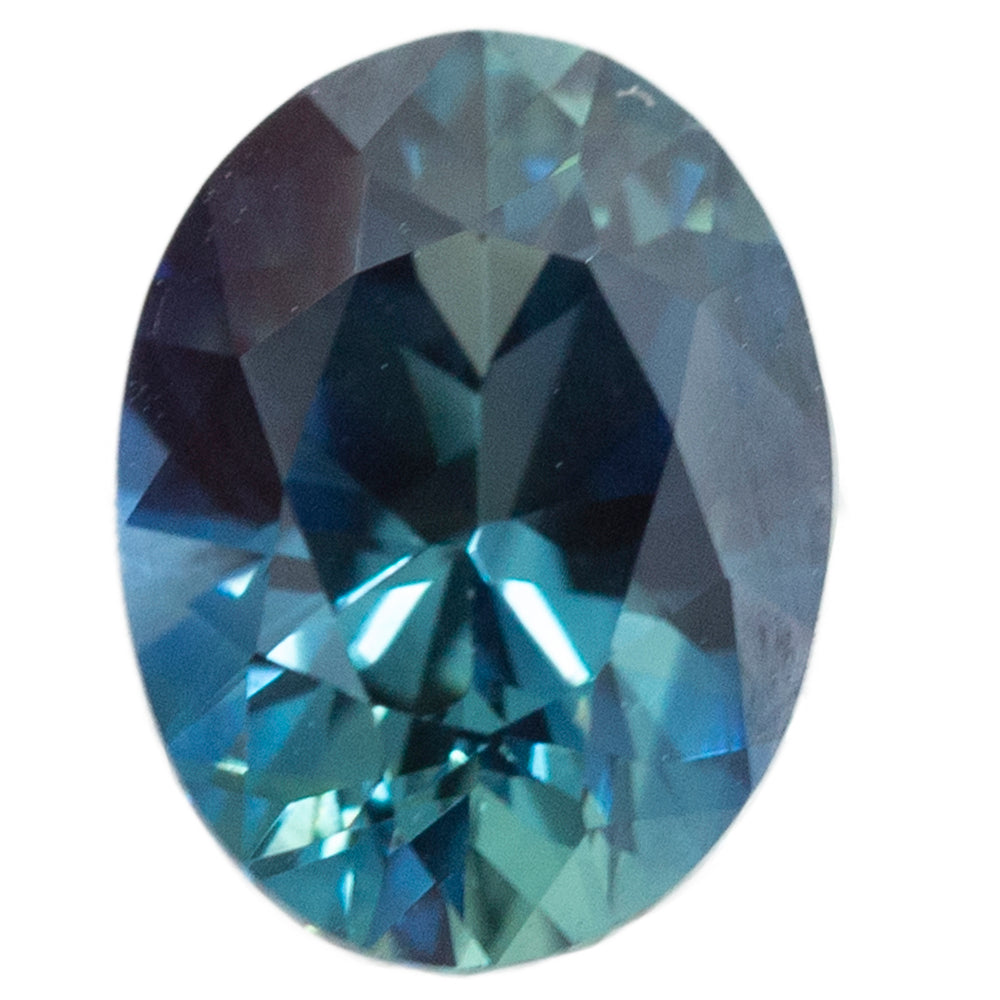 2.73CT OVAL NIGERIAN SAPPHIRE, OCEAN BLUE, UNHEATED, 9.07X7.24MM
