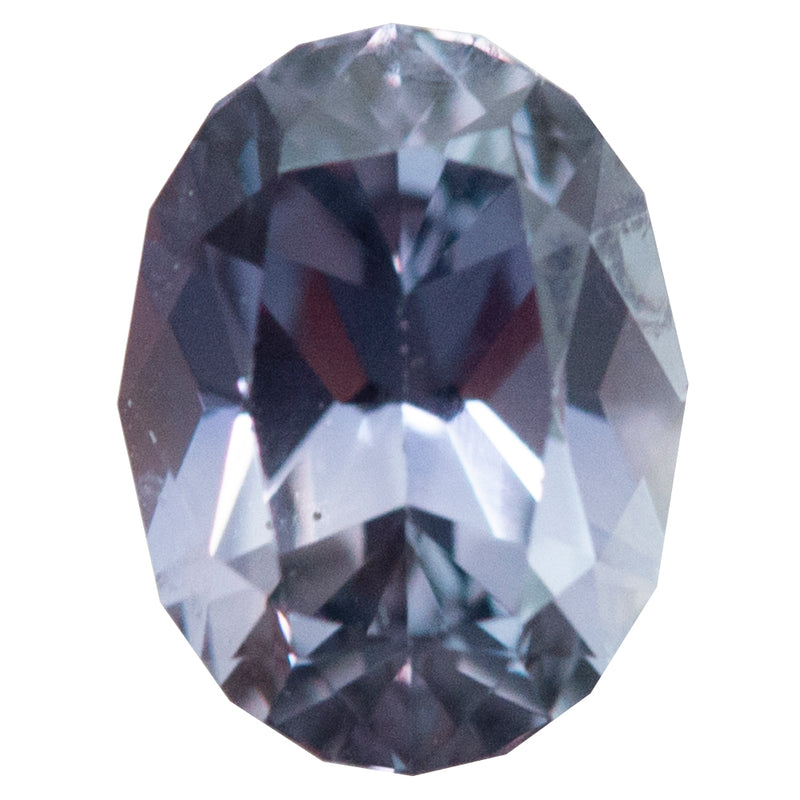 2.77CT OVAL MONTANA SAPPHIRE, GIA, COLOR CHANGING GREYISH VIOLET TO PURPLISH PINK, UNHEATED, 8.31X6.32MM