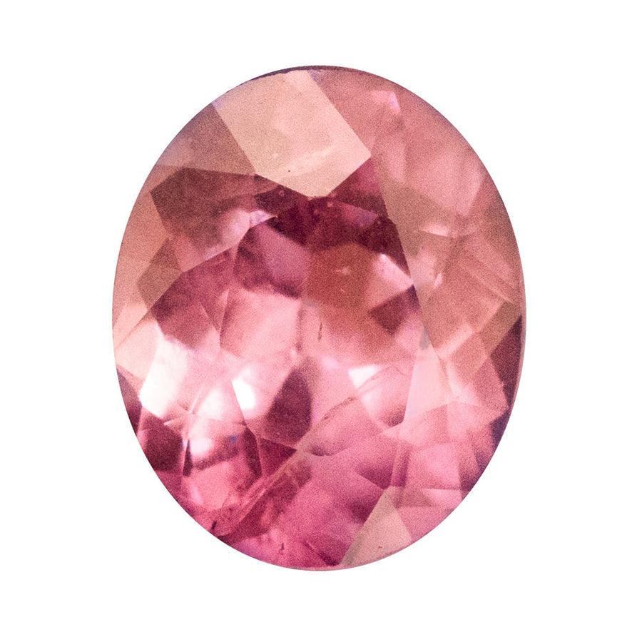 1.75ct OVAL SAPPHIRE, ROSE PINK, 7.98X6.59MM