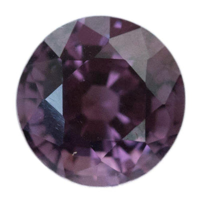 3.02CT ROUND BURMESE SPINEL, WINE PURPLE RED, UNTREATED, 8.3MM