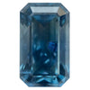 3.07CT EMERALD CUT MONTANA SAPPHIRE, GIA, WATERCOLOR BLUE, 9.26X5.52MM