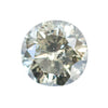 1.63CT ROUND EGL, FANCY CHAMPAGNE SALT AND PEPPER, 7.2MM