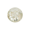 0.95CT ROUND ROSECUT DIAMOND, SHIMMERY LIGHT GREENISH YELLOW/WHITE, VERY LIGHT INCLUSIONS, 6MM