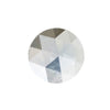 0.81CT MONTANA SAPPHIRE ROSECUT, GREY CLEAR WHITE BLUE YELLOW, 6.52MM