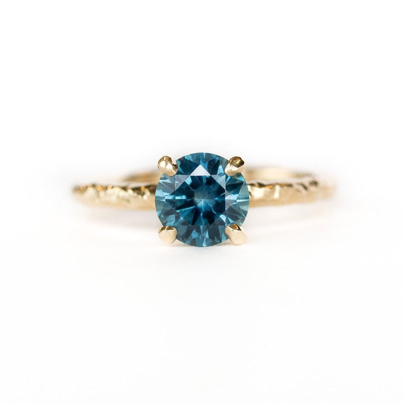 Custom Order-  1.06ct Color Change Sapphire in Evergreen Solitaire Setting - Reserved for A.Y
