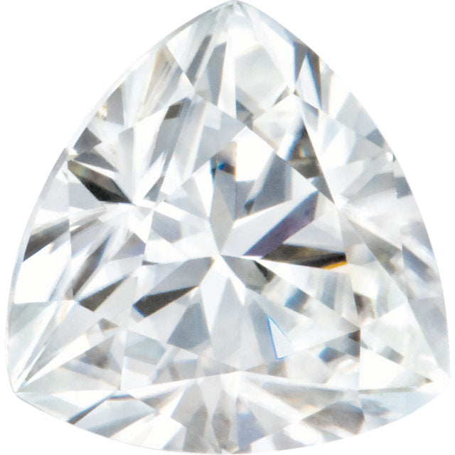 0.61ct Trillion Moissanite
