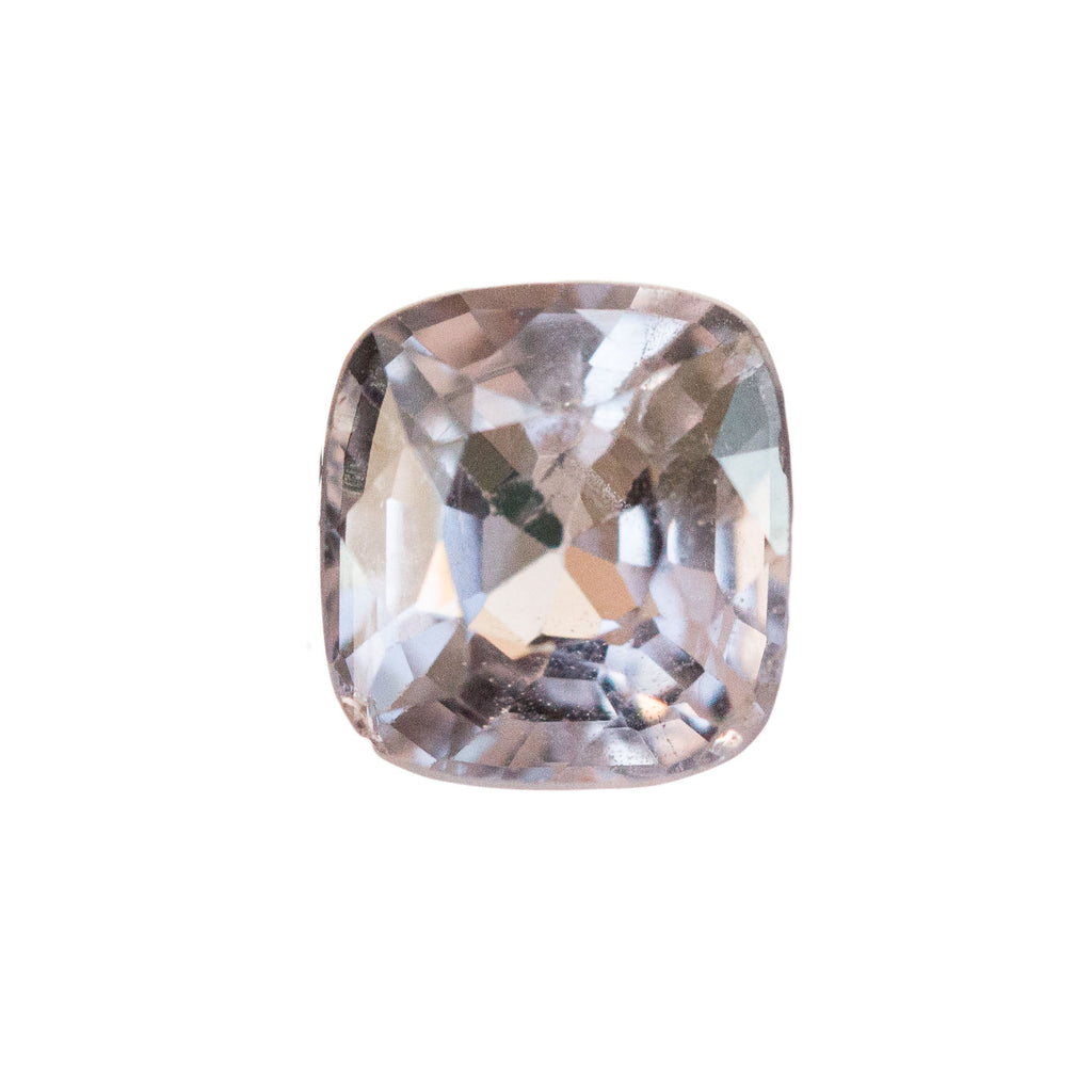 1.09CT CUSHION PLATINUM PINK SPINEL, UNTREATED, EYE-CLEAN, 6.13X5.71MM