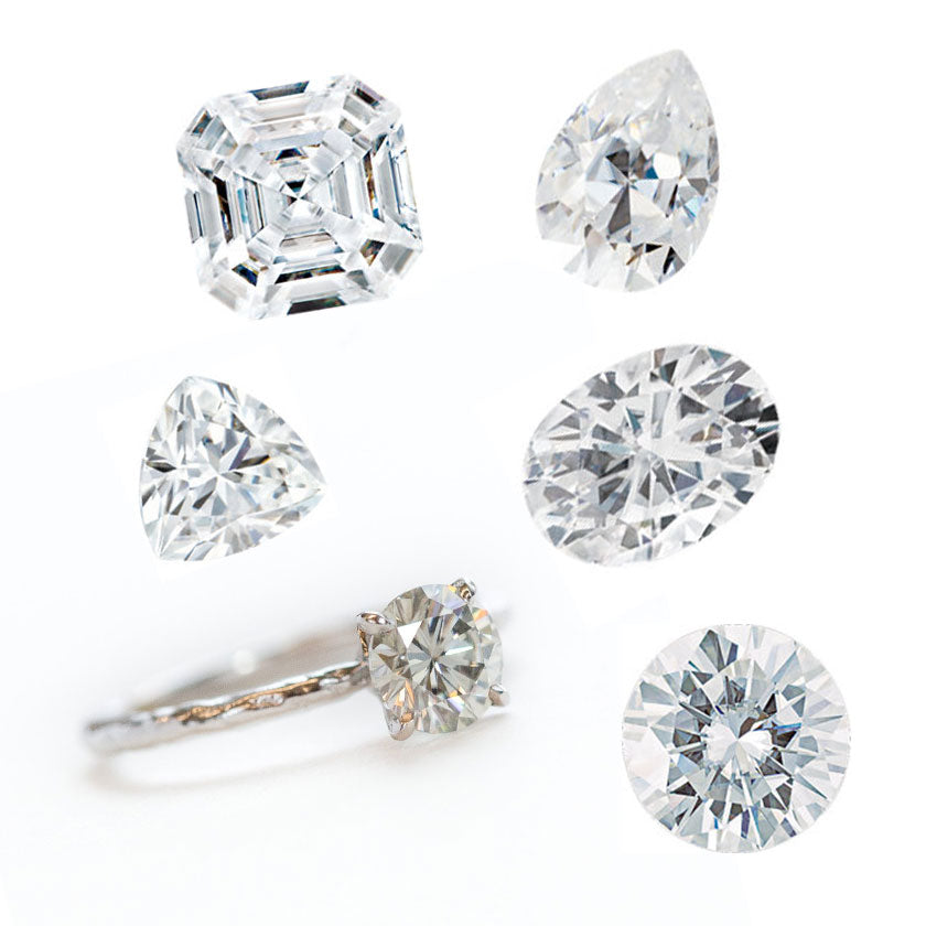 Build Your Own Moissanite Ring