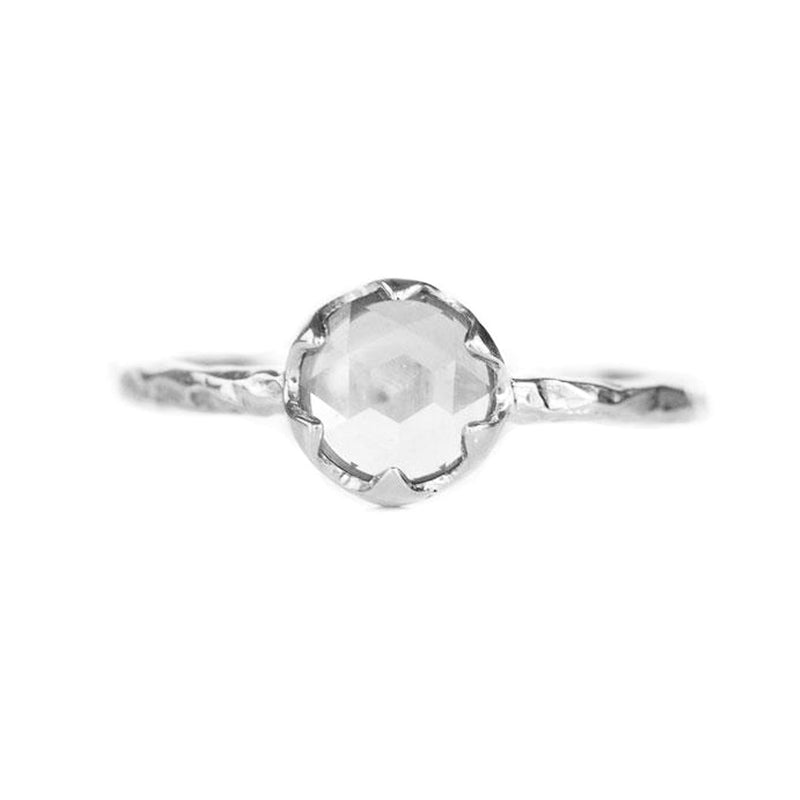 Low Profile Six Prong Solitaire- Setting