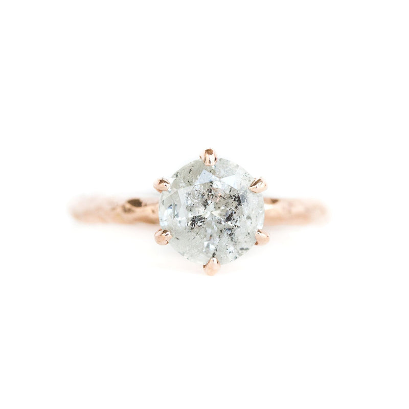 6 Prong Evergreen Solitaire - Setting