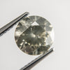 2.15ct 8.19x8.15x5.09mm Light Greyish Greenish Yellow Round Brilliant F-124- Dream Diam Exclusive