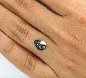 Custom Order- 1.4ct Black Diamond Ring. Deposit Payment