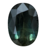 2.90CT CEYLON OVAL SAPPHIRE, DEEP EMERALD GREEN AND BLUE, 10.68X7.64MM
