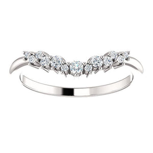 Waterfall Diamond Band