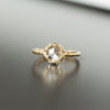 Custom Order-  1.21ct Oval Sparking Grey Diamond 6 Prong Solitaire Setting - Reserved for P.D