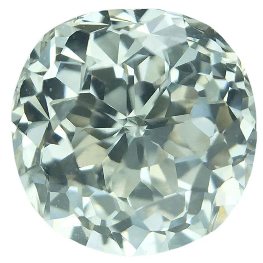 1.08CT ROUND CROWN JUBILEE® CUT DIAMOND, GIA, L CHAMPAGNE COLOR, SI1 CLARITY, 6.2X5.8MM
