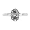Alluvial 4-Prong Solitaire, Stackable - Setting