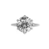 Split Shank Six Prong Solitaire - Stackable