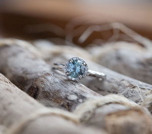 Montana Sapphire Ring by Anueva Jewelry