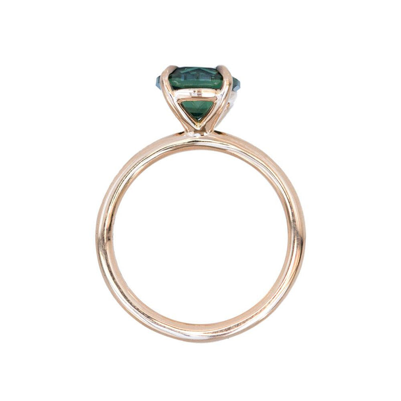 Plain Evergreen 4-Prong Solitaire, Stackable - Setting