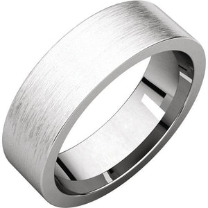 Custom Order-  Platinum Wedding Bands Reserved for D.