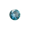 0.85CT MONTANA SAPPHIRE, BLUE WITH TEAL, OLD EUROPEAN CUT STYLE, HEATED, 5.92MM