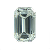 Custom Order- Listing 1 of 4 for Double Prong 0.95ct Emerald Cut Diamond Ring Reserved for M.H.