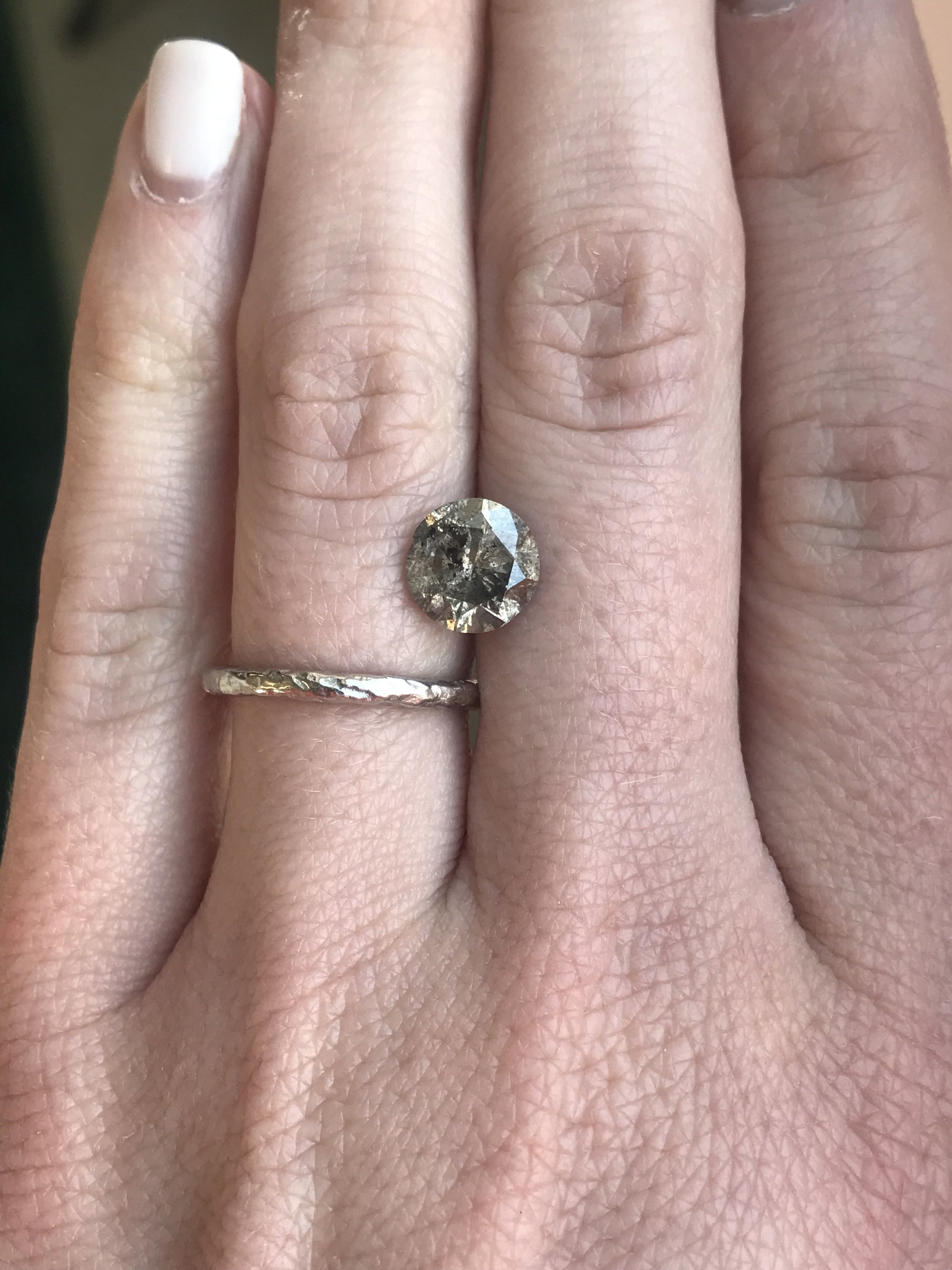 ring white in tw forevermark diamond gold engagement