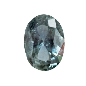 0.93CT MONTANA SAPPHIRE, LIGHT DENIM BLUE, 7x5MM