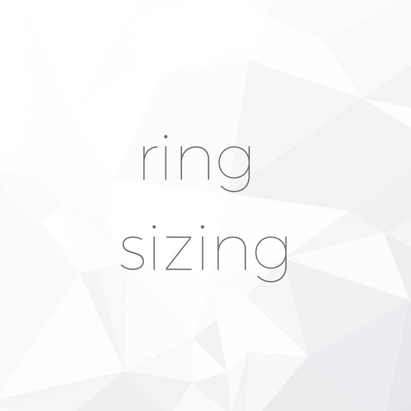 Ring Sizing for R.