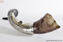 "925 Sterling Silver Plated Yemenite Kudu Shofar By ""Shofarot Israel"" + FREE SHIPPING + FREE BAG (13)"