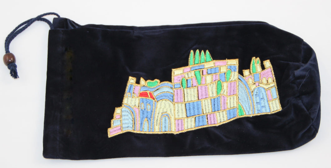 Rams  Velvet  kosher Shofar Bag Christian / Jewish (1)