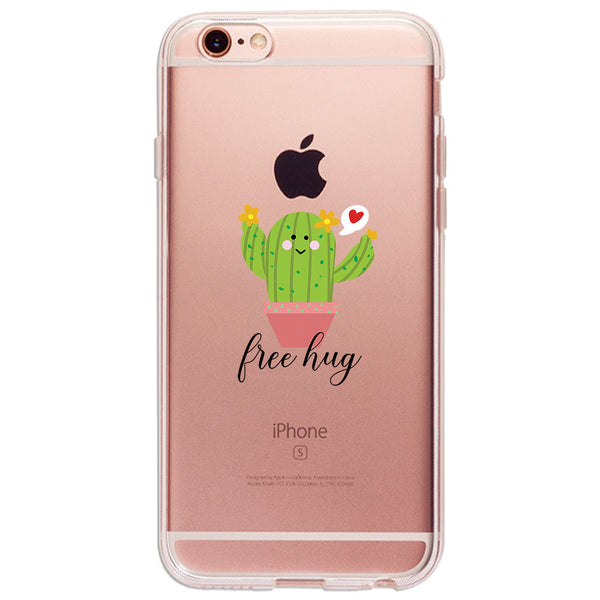 Lone Cactus - Ultra Thin iPhone Clear TPU Case