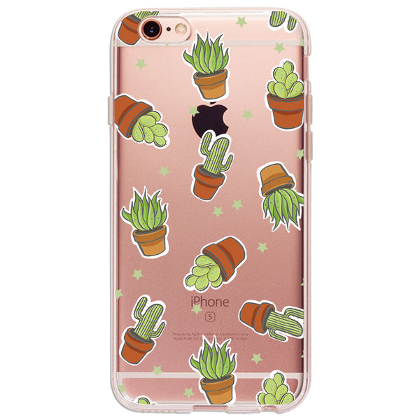 Cactus - Ultra Thin iPhone Clear TPU Case