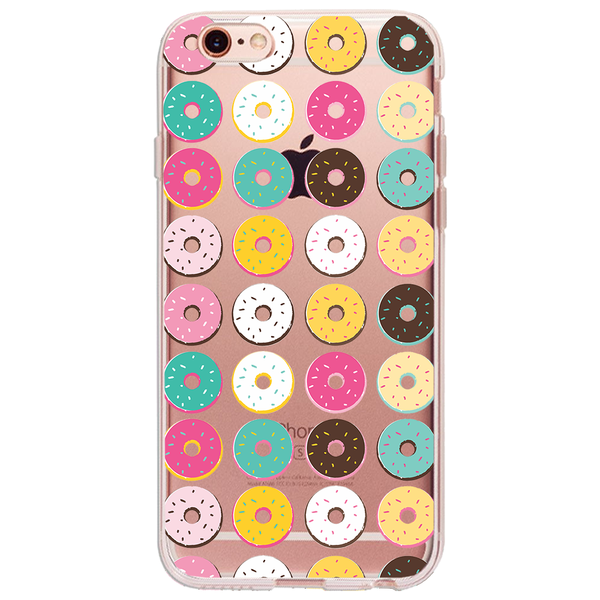 Donut Donut- Ultra Thin iPhone Clear TPU Case - December12.shop