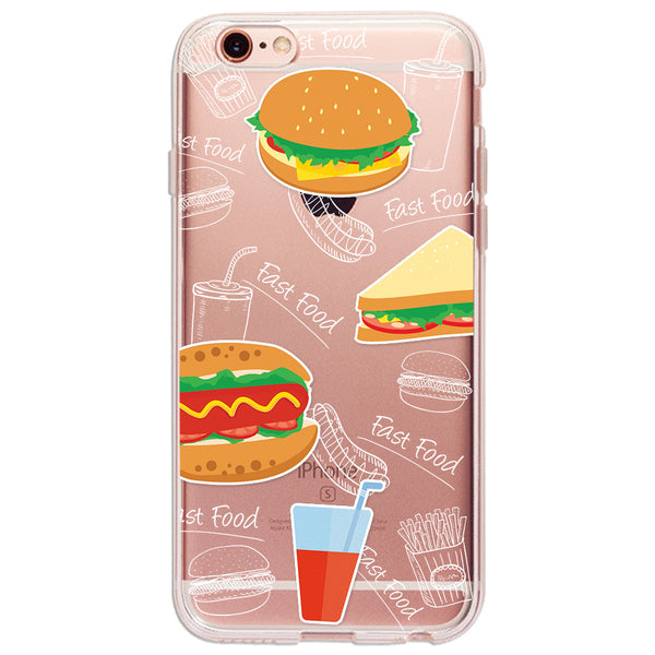 Burger Kong - Ultra Thin iPhone Clear TPU Case - December12.shop