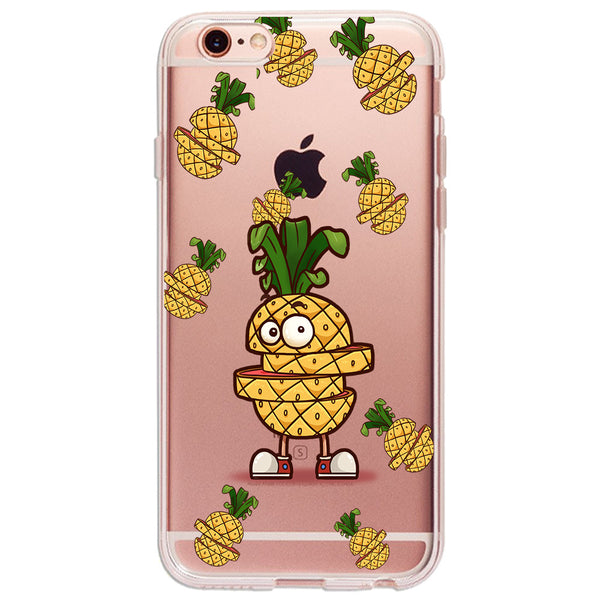 Hey I'm Pineapple - Ultra Thin iPhone Clear TPU Case