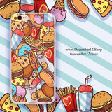 Fast Food Madness - Ultra Thin iPhone Clear TPU Case