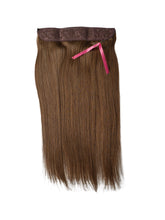 #6 ASH BROWN HALO STYLE Hair Extensions