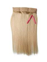 #60 PLATINUM BLONDE HALO STYLE Hair Extensions