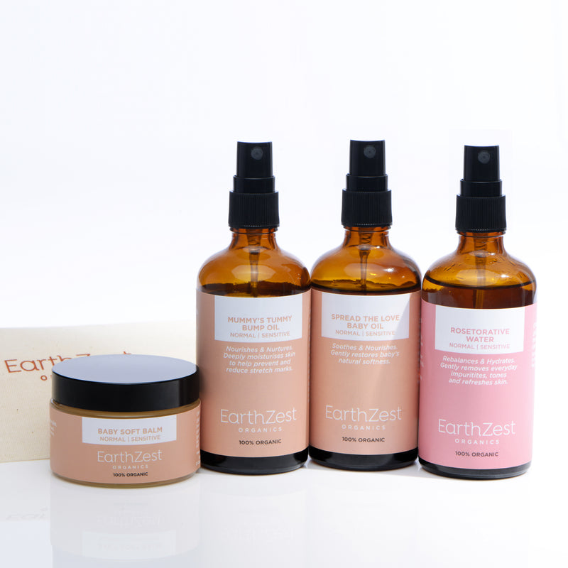 Mother & Baby Luxury Gift Set by EarthZest Organics