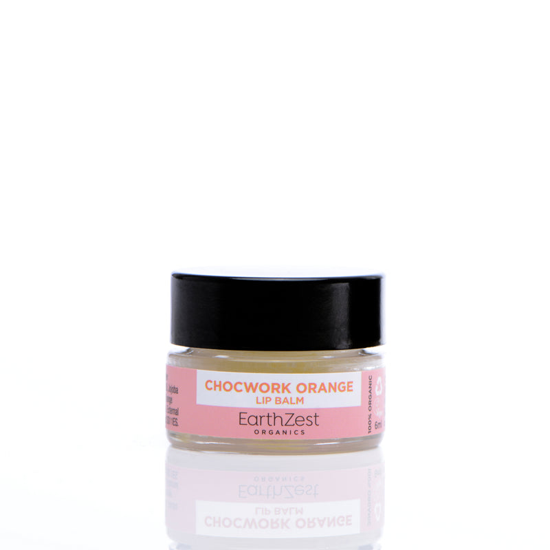 Chocwork Orange Lip Balm by EarthZest Organics