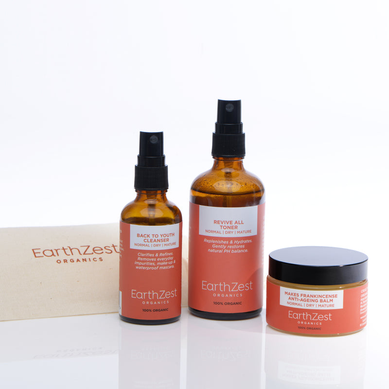 Organic Anti-Ageing Skincare Kit by EarthZest Organics