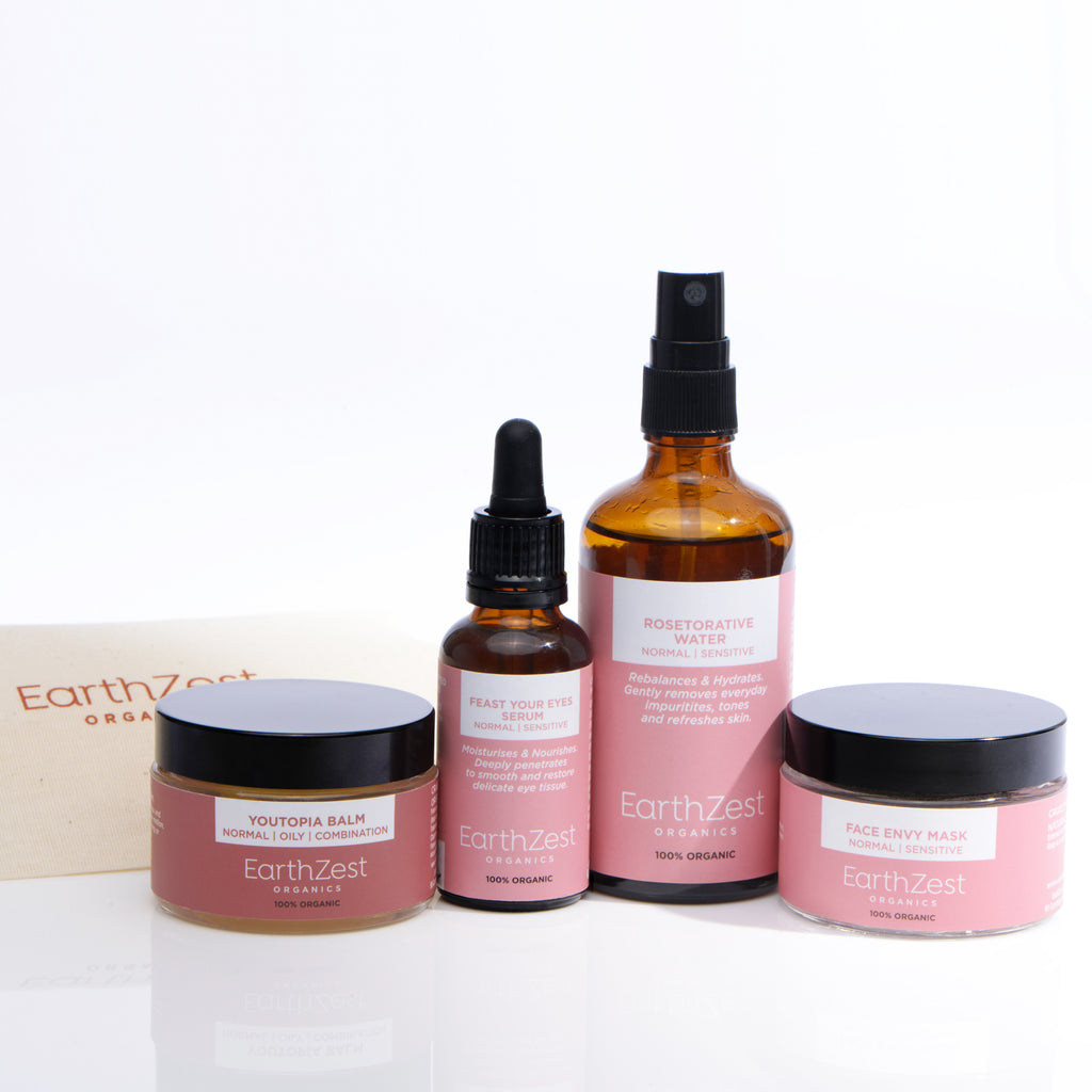Extra Care Facial Kit for Normal Oily Combination Skin by EarthZest Organics