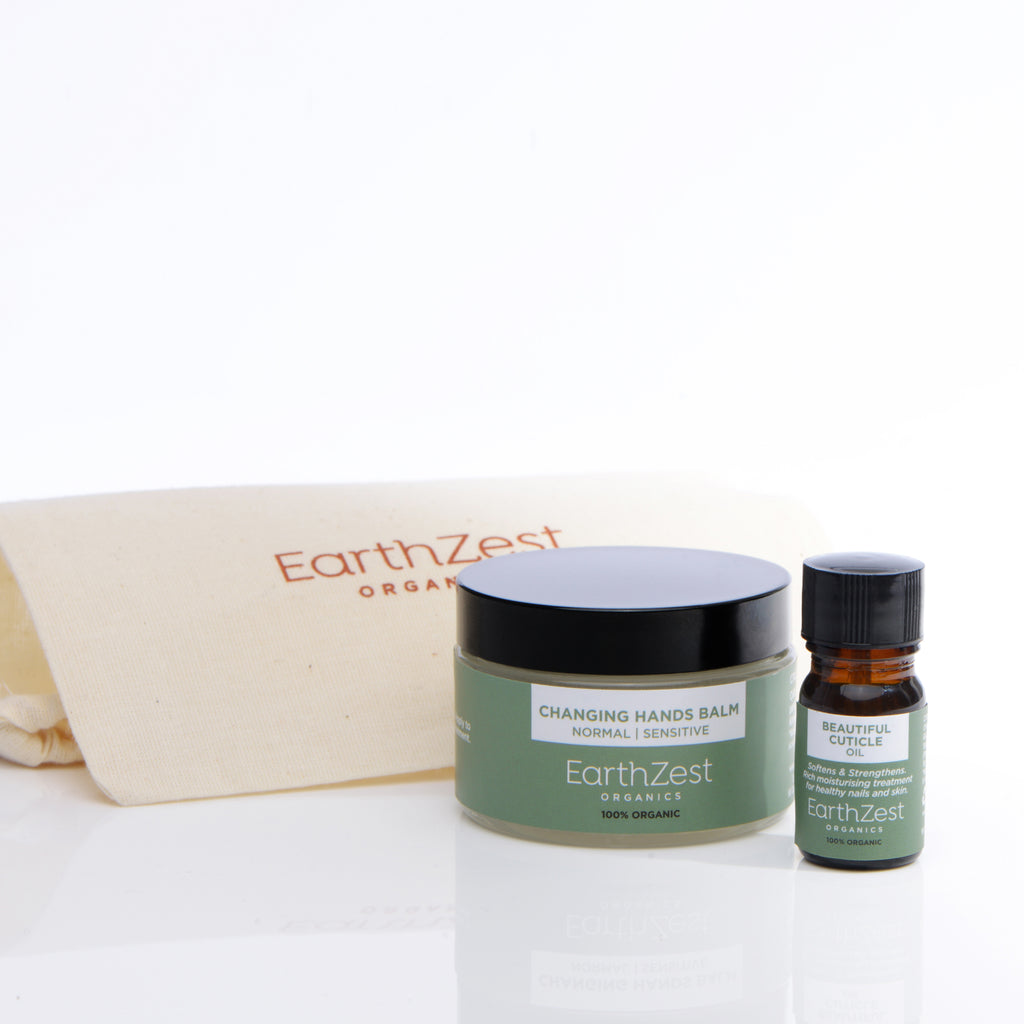 Vegan and natural hand cream by EarthZest Organics