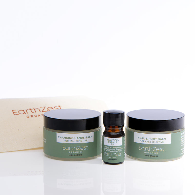 Hand & Foot Balm Gift Set by EarthZest Organics