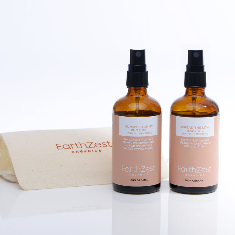 Organic Natural Baby Skincare Gift Set by EarthZest Organics